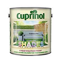 Cuprinol Garden shades Coastal mist Matt Wood paint, 2.5
