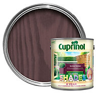 Cuprinol Garden Shades Summer damson Matt Wood paint 2.5L