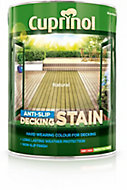 Cuprinol Natural Matt Slip resistant Decking Wood stain, 5L