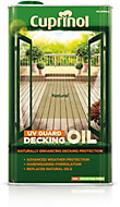 Cuprinol UV guard Natural Matt Decking oil & protector 5L