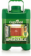 Cuprinol One coat sprayable Rich cedar Wood paint
