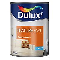 Dulux Feature wall Moroccan flame Matt Emulsion paint 1.25L
