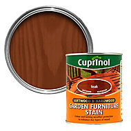 Cuprinol Softwood & hardwood Teak Furniture Wood stain, 0.75L