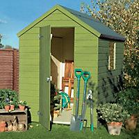 Cuprinol Garden shades Sunny lime Matt Wood paint, 1