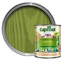 Cuprinol Garden Shades Sunny lime Matt Wood paint 1L
