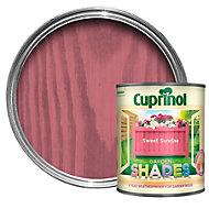 Cuprinol Garden Shades Sweet sundae Matt Wood paint 1L