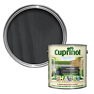 Cuprinol Garden shades Urban slate Matt Wood paint, 2.5L