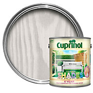 Cuprinol Garden Shades White daisy Matt Wood paint 2.5L