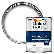 Dulux Trade White Metal & wood Undercoat, 1L