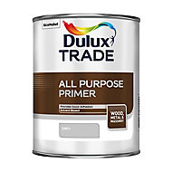 Dulux Trade Grey Metal & wood Primer & undercoat, 1L