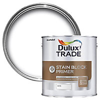 Dulux Trade Stain block plus White Matt Primer, 1L