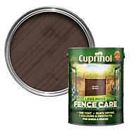 Cuprinol Less mess fence care Rustic brown Matt Shed & fence treatment 5L