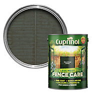Cuprinol Less mess fence care Woodland green Matt Wood treatment, 5L