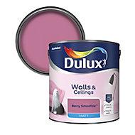 Dulux Berry smoothie Matt Emulsion paint, 2.5L