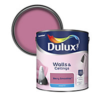 Dulux Berry smoothie Matt Emulsion paint, 2.5L