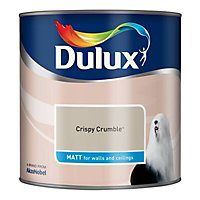 Dulux Crispy crumble Matt Emulsion paint 2.5L