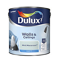 Dulux Mint macaroon Matt Emulsion paint 2.5