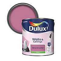 Dulux Berry smoothie Silk Emulsion paint, 2.5L