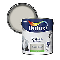 Dulux Pebble shore Silk Emulsion paint 2.5