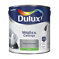 Dulux Warm pewter Silk Emulsion paint 2.5L