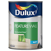 Dulux Feature wall Enchanted Eden Matt Emulsion paint 1.25L