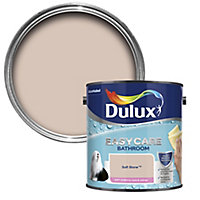 Dulux Easycare Bathroom Soft stone Soft sheen Emulsion paint, 2.5L