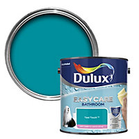 Dulux Easycare Bathroom Teal touch Soft sheen Emulsion paint, 2.5L