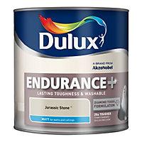 Dulux Endurance Jurassic stone Matt Emulsion paint 2.5L