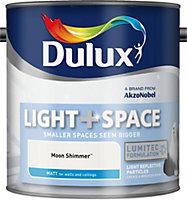 Dulux Light & space Moon shimmer Matt Emulsion paint 2.5L