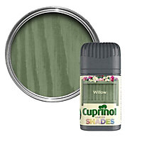 Cuprinol Garden shades Willow Matt Wood paint, Tester pot