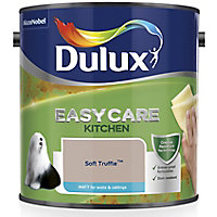 Dulux Easycare Kitchen Soft truffle Matt Emulsion paint, 2.5L