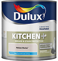 Dulux Kitchen Mellow mocha Matt Emulsion paint 2.5L