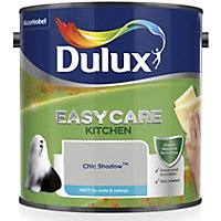 Dulux Easycare kitchen Chic shadow Matt Emulsion paint 2.5L
