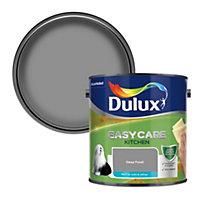 Dulux Easycare Kitchen Deep fossil Matt Emulsion paint, 2.5L