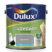 Dulux Easycare Kitchen Deep fossil Matt Emulsion paint 2.5