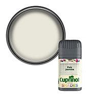 Cuprinol Garden shades Pale jasmine Matt Wood paint, 0.05L