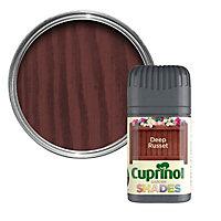Cuprinol Garden shades Deep russet Matt Wood paint, Tester pot