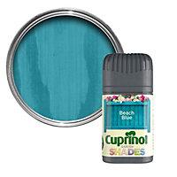 Cuprinol Garden Shades Beach blue Matt Wood paint 0.05L