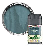 Cuprinol Garden shades Beaumont blue Matt Wood paint, Tester pot