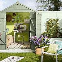 Cuprinol Garden shades Sunny lime Matt Wood paint, Tester pot