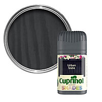 Cuprinol Garden shades Urban slate Matt Wood paint, Tester pot