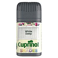 Cuprinol Garden shades Daisy white Matt Wood paint, Tester pot