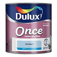 Dulux Once First dawn Matt Emulsion paint 2.5L