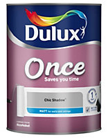 Dulux Once Chic shadow Matt Emulsion paint 5L
