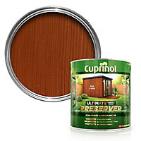 Cuprinol Ultimate Red cedar Matt Wood preserver, 4L