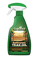 Cuprinol Naturally enhancing Clear Teak Wood oil, 0.5L