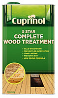 Cuprinol 5 star complete Clear Wood treatment, 5L
