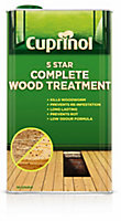 Cuprinol 5 star complete Clear Wood treatment, 1L