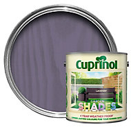 Cuprinol Garden Shades Lavender Matt Wood paint 5L