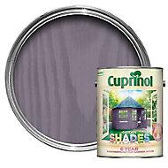 Cuprinol Garden shades Lavender Matt Wood paint, 5L